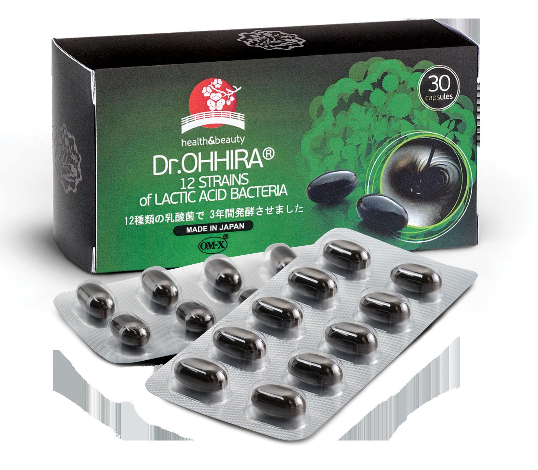 Dr.OHHIRA® 12 rūšių pieno rūgšties bakterijų kompleksas